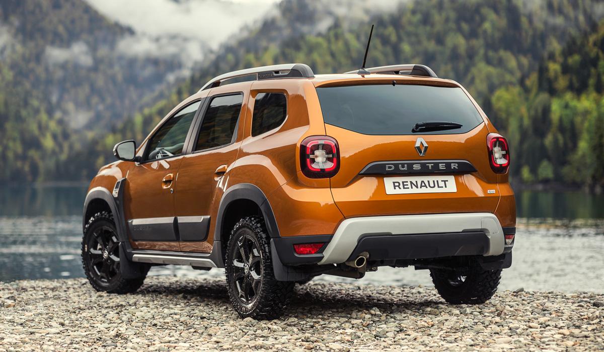 Новый Renault Duster для России: опубликованы фотографии