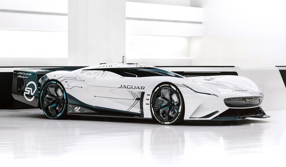 Jaguar Vision Gran Turismo SV вышел из виртуального мира