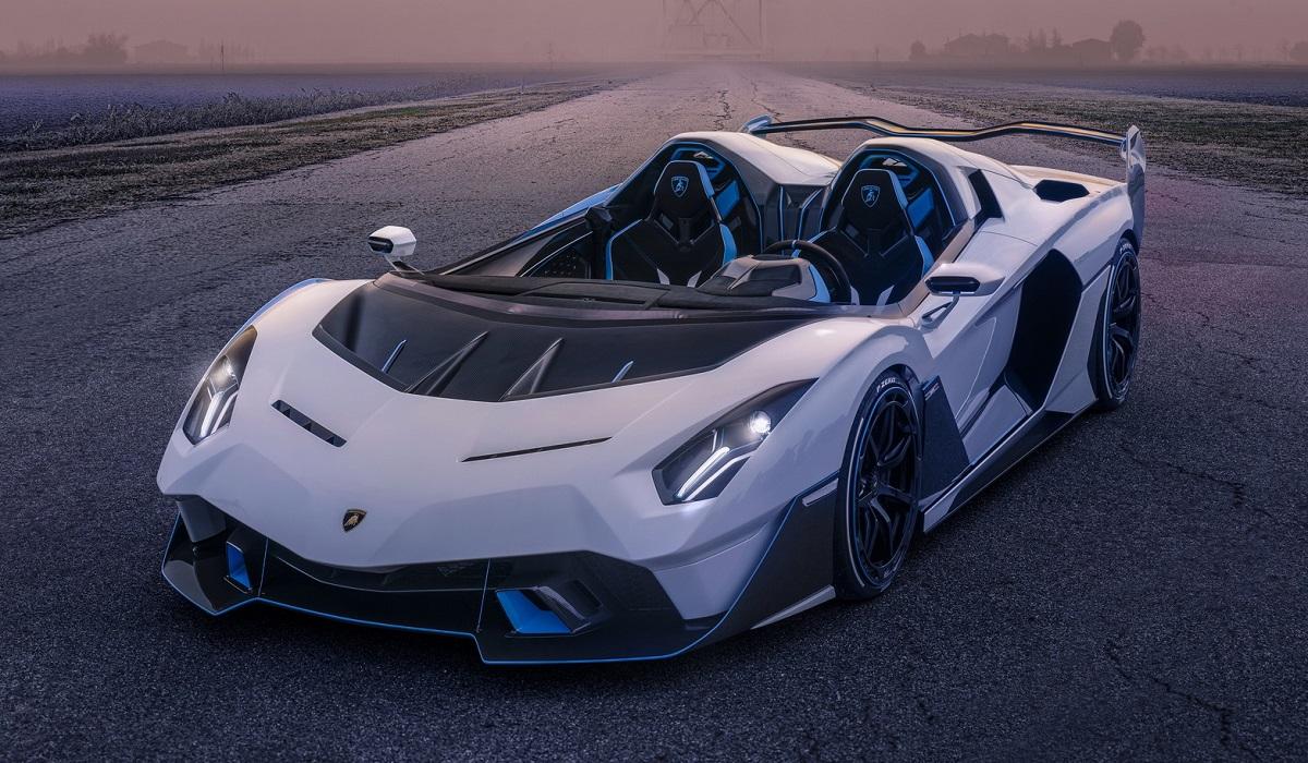 Lamborghini SC 20: уникальный родстер с атмосферным V12, но знакомое оформление переднего бампера