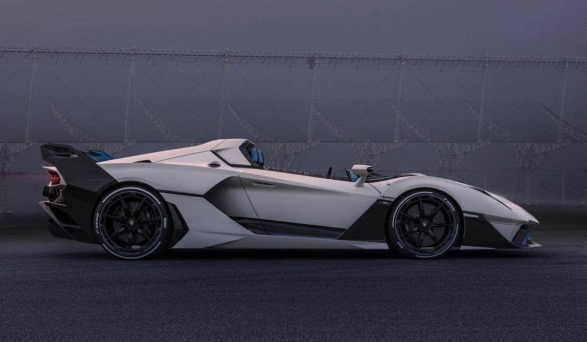 Lamborghini SC20: уникальный родстер с атмосферным V12