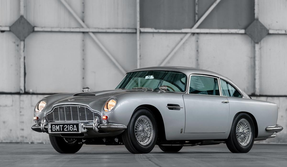 aston martin db5 goldfinger continuation 1 - Начались поставки купе Aston Martin DB5 «продолженной» серии