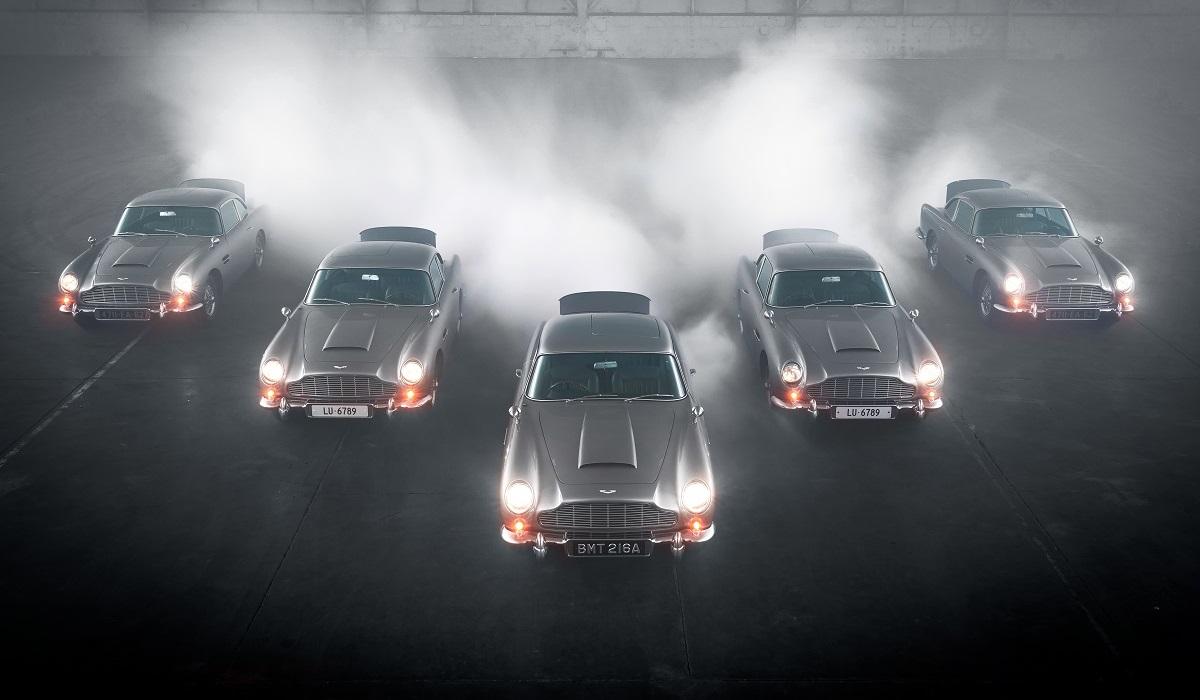 aston martin db5 goldfinger continuation 6 - Начались поставки купе Aston Martin DB5 «продолженной» серии