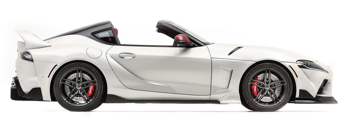 toyota gr supra sport top2 - В Америке из купе Toyota GR Supra сделали таргу Sport Top