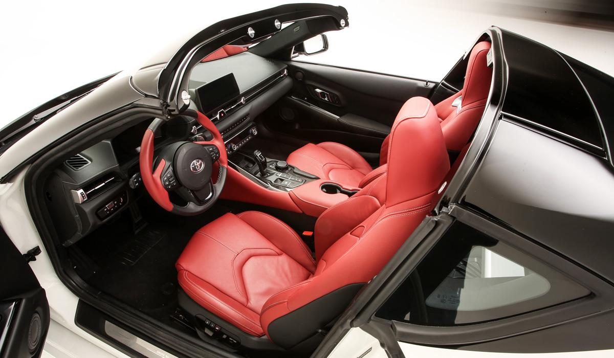 toyota gr supra sport top5 - В Америке из купе Toyota GR Supra сделали таргу Sport Top