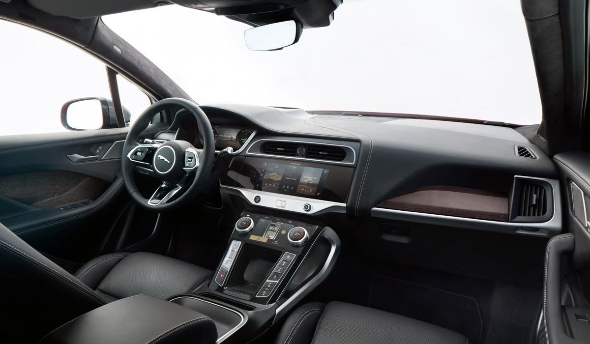 Jaguar I Pace Interior - Модернизированный Jaguar I-Pace: цены в России