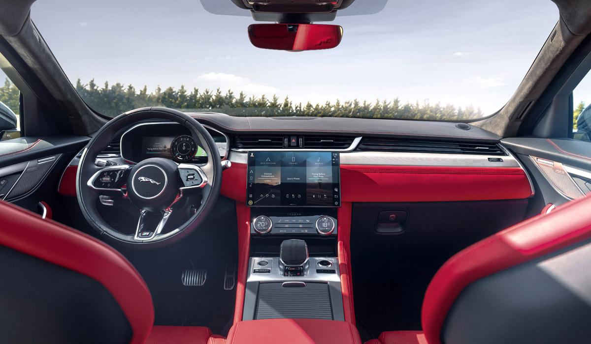 jaguar f pace 2 - Объявлены цены на обновленные кроссоверы Jaguar F-Pace