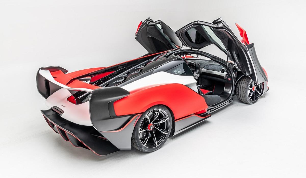 McLaren Sabre 4 - Новый суперкар McLaren Sabre: только для Калифорнии