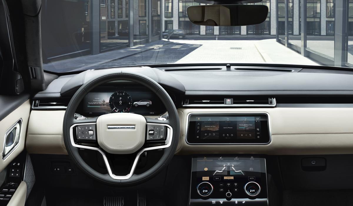 range rover velar3 - Обновленный Range Rover Velar: цены в России