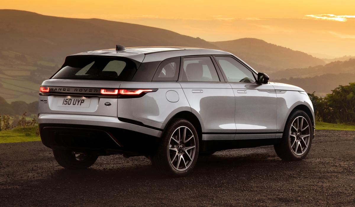 range rover velar4 - Обновленный Range Rover Velar: цены в России
