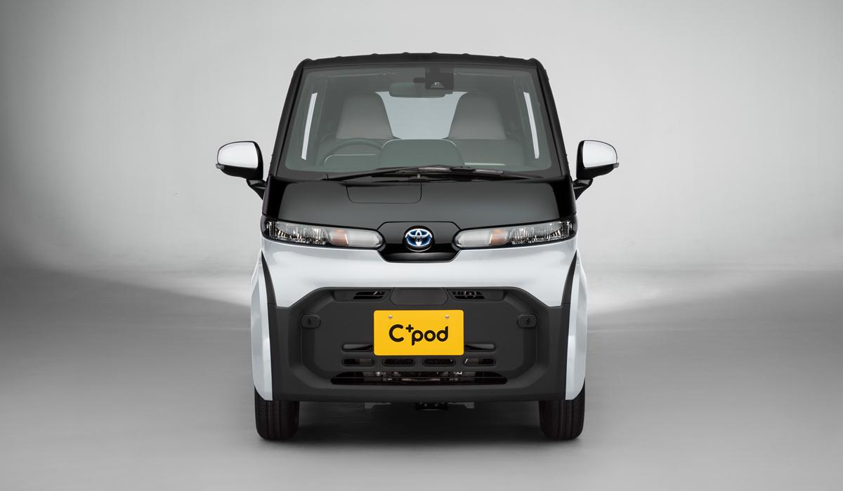 Toyota cpod10 - Электромобиль Toyota C+pod вышел на японский рынок