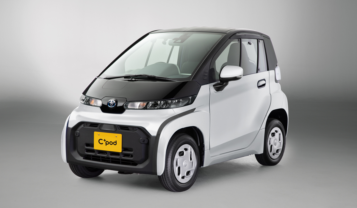 Toyota cpod2 - Электромобиль Toyota C+pod вышел на японский рынок