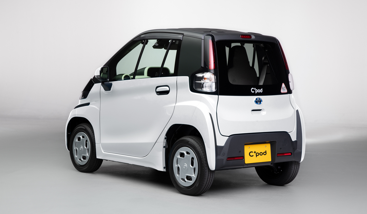 Toyota cpod3 - Электромобиль Toyota C+pod вышел на японский рынок