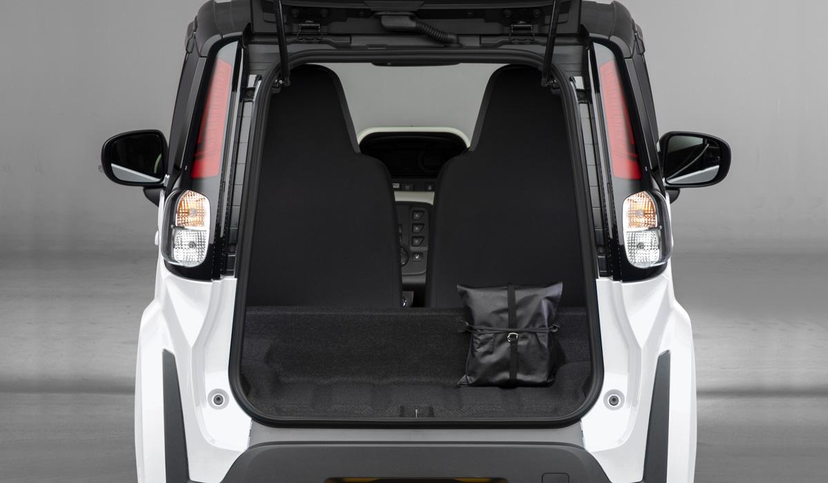 Toyota cpod8 - Электромобиль Toyota C+pod вышел на японский рынок