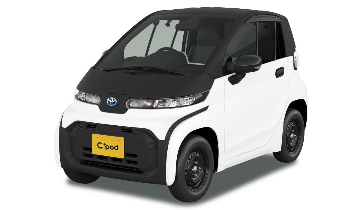 Toyota cpod9 - Электромобиль Toyota C+pod вышел на японский рынок