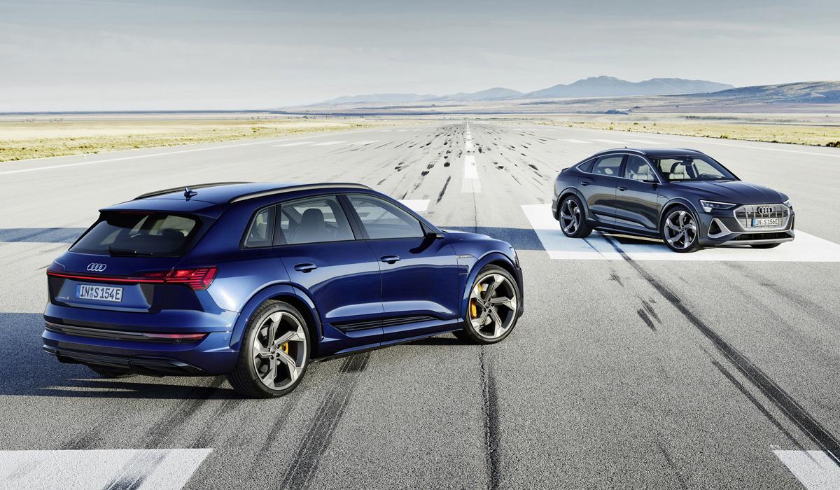 audi e tron s - Audi представит 18 новинок для России в 2021 году