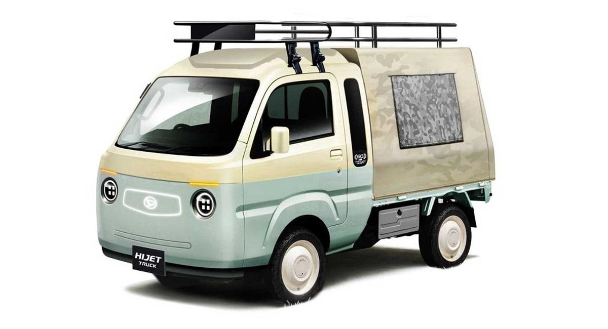 daihatsu hi z jumbo camper ver. - Daihatsu покажет пять концепт-каров на тюнинг-шоу в Токио