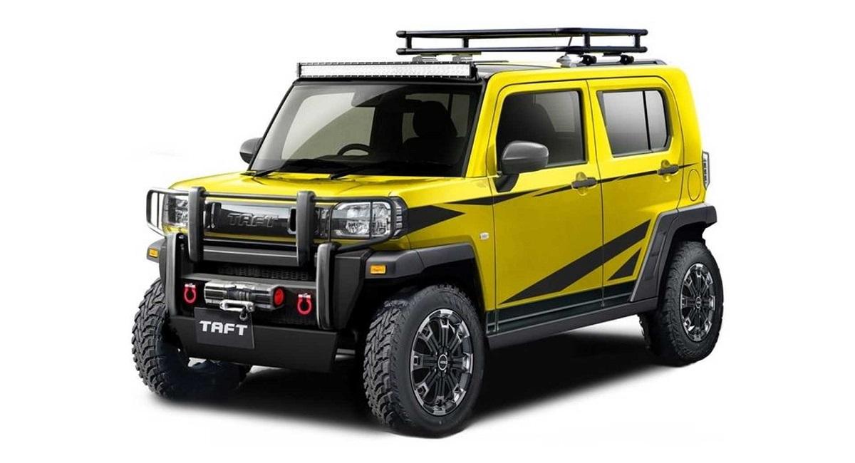 daihatsu taft crossfield ver. - Daihatsu покажет пять концепт-каров на тюнинг-шоу в Токио