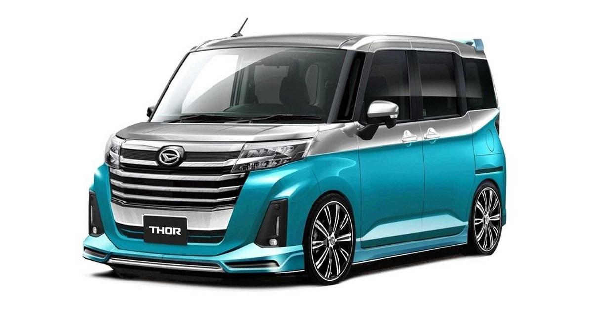 daihatsu thor premium ver. with d sport - Daihatsu покажет пять концепт-каров на тюнинг-шоу в Токио