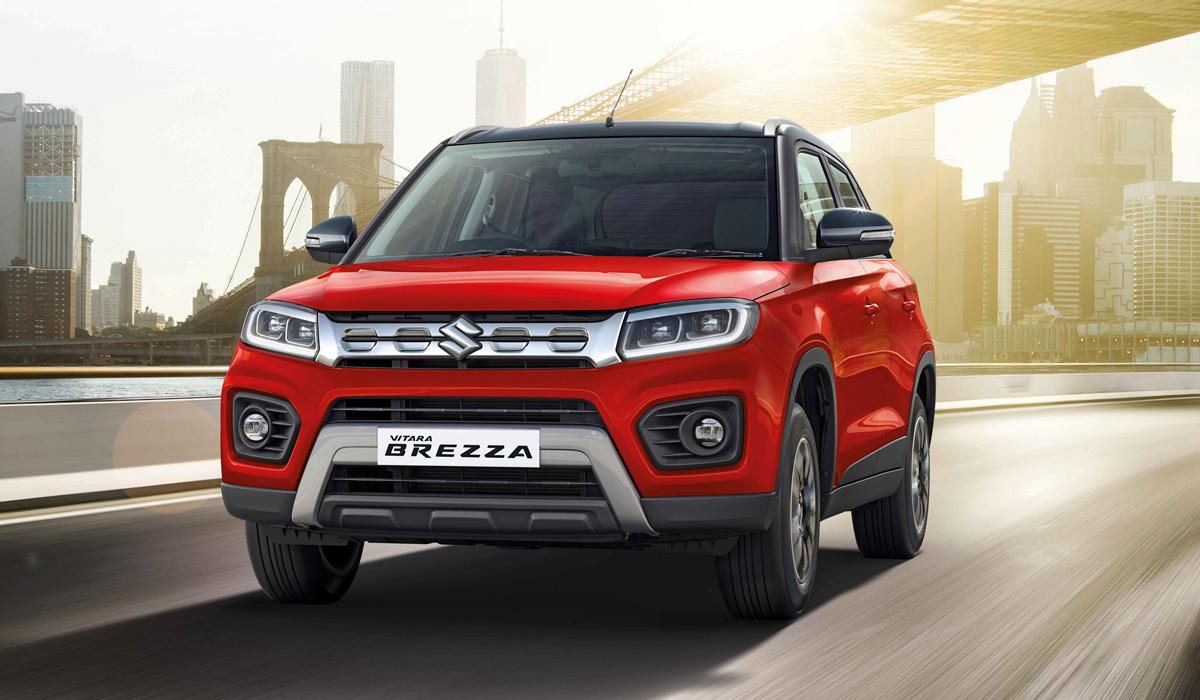 Обновленная Suzuki Vitara Brezza сменила дизель на бензин