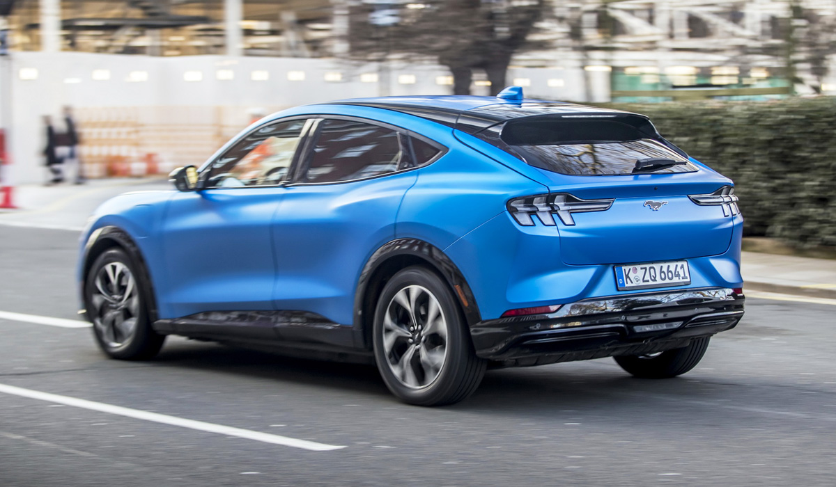 ford mustang mach e europe2 - Электрический Ford Mustang Mach-E: дебют в Европе
