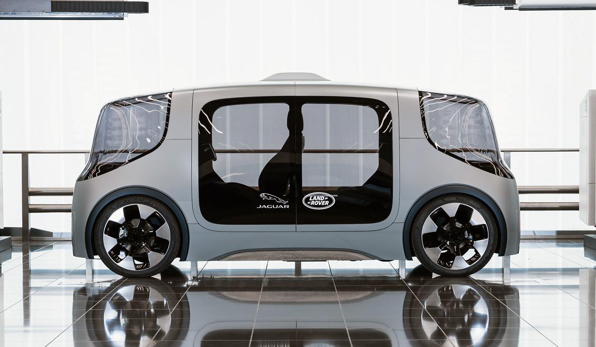 Компания Jaguar Land Rover представила беспилотный Vector