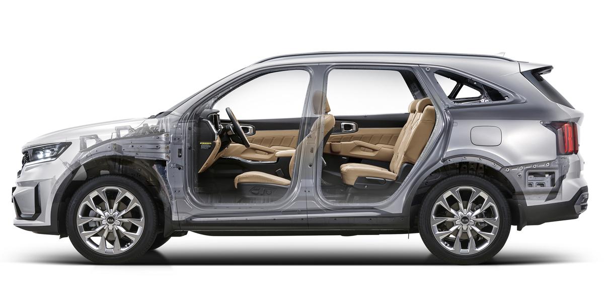 Новый кроссовер Kia Sorento: двигатели и оснащение