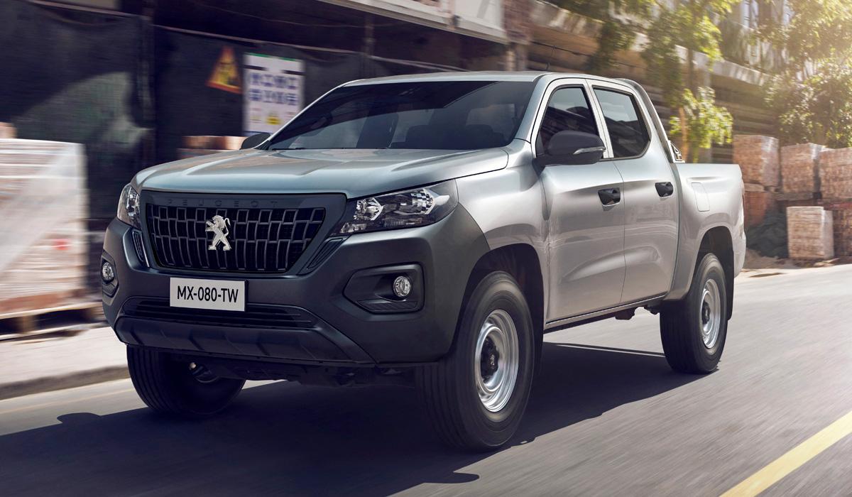 Новый пикап Peugeot Landtrek: китайская родословная