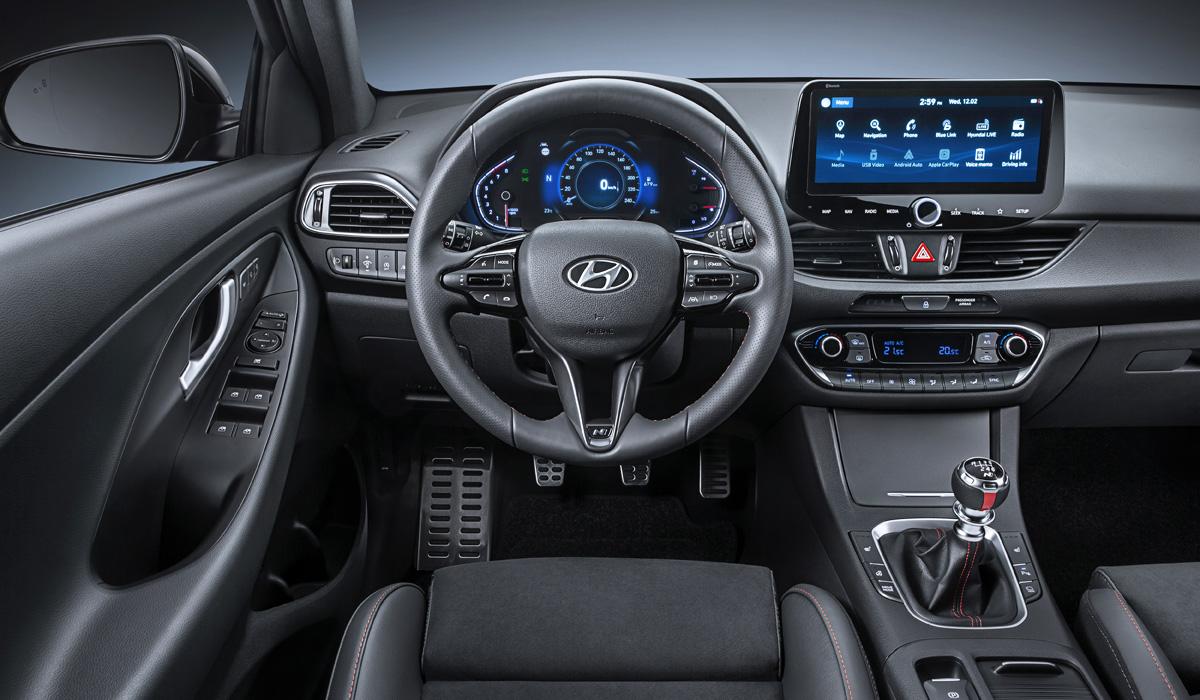 Обновленный Hyundai i30: хэтчбек, лифтбек, универсал и версия N Line