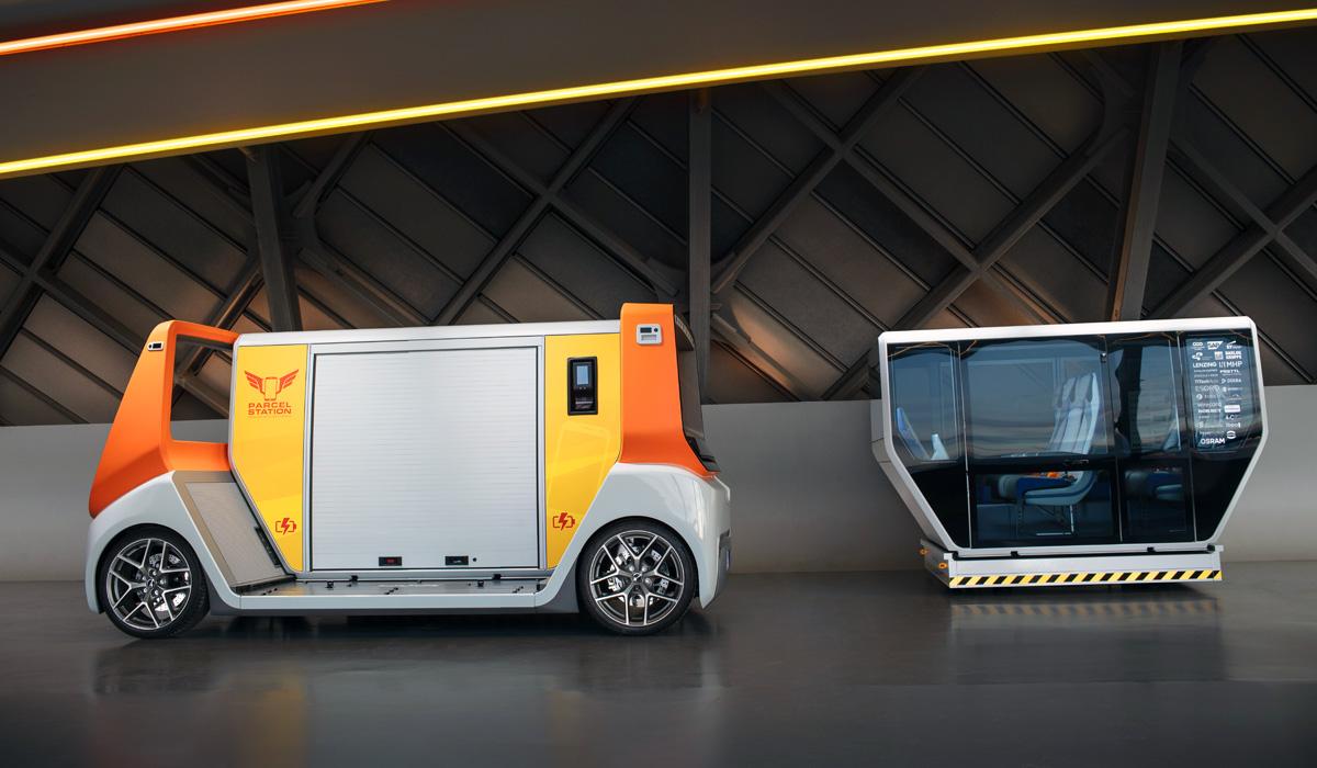 Rinspeed MetroSnap приблизил идею сменных кузовов к серии