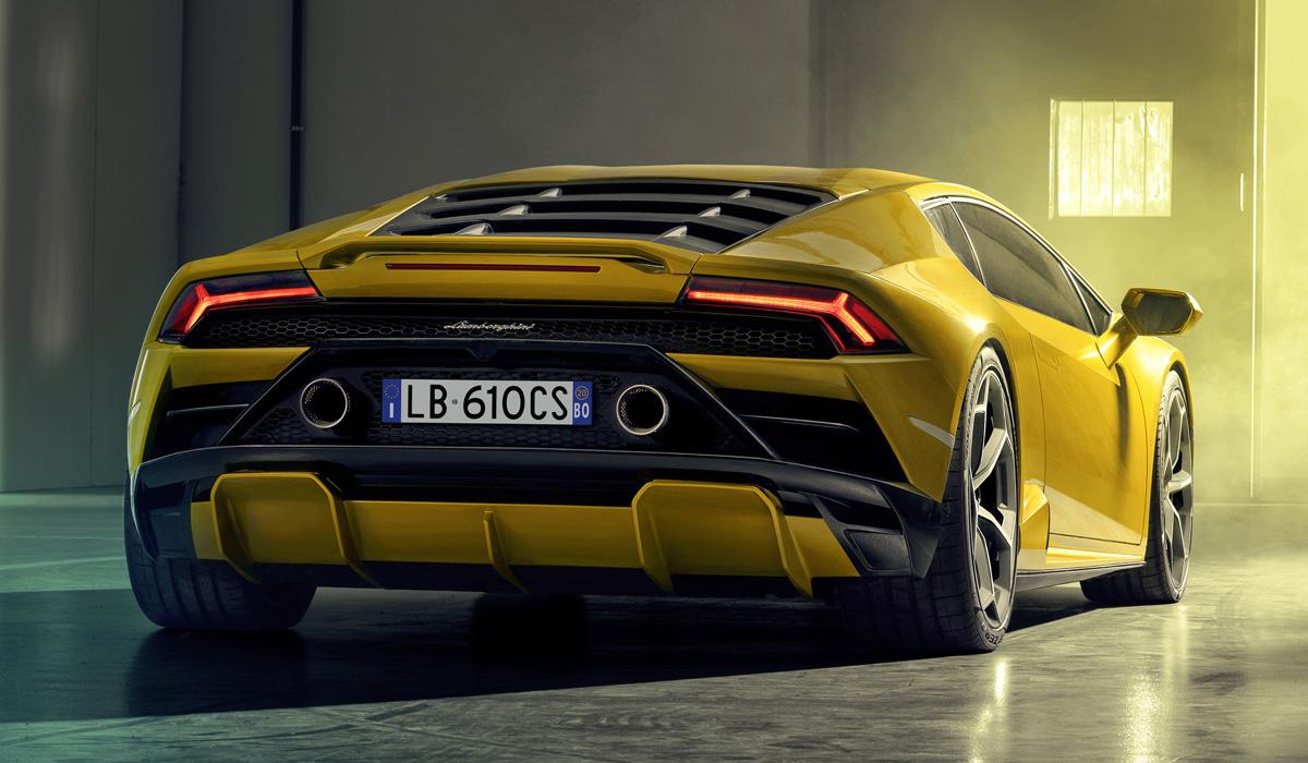 Представлен заднеприводный Lamborghini Huracan Evo RWD