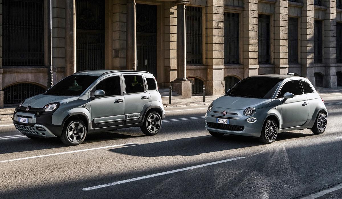 Хэтчбеки Fiat 500 и Panda начали гибридизацию марки