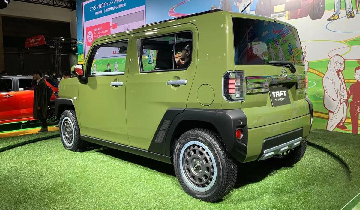 daihatsu taft2 - Новый Daihatsu Taft: паркетник вместо вездехода