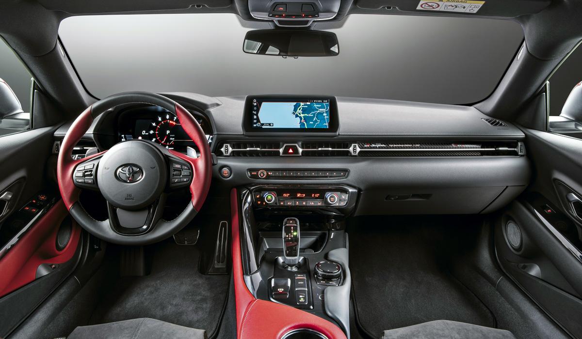 Двухлитровая Toyota GR Supra появится в Европе