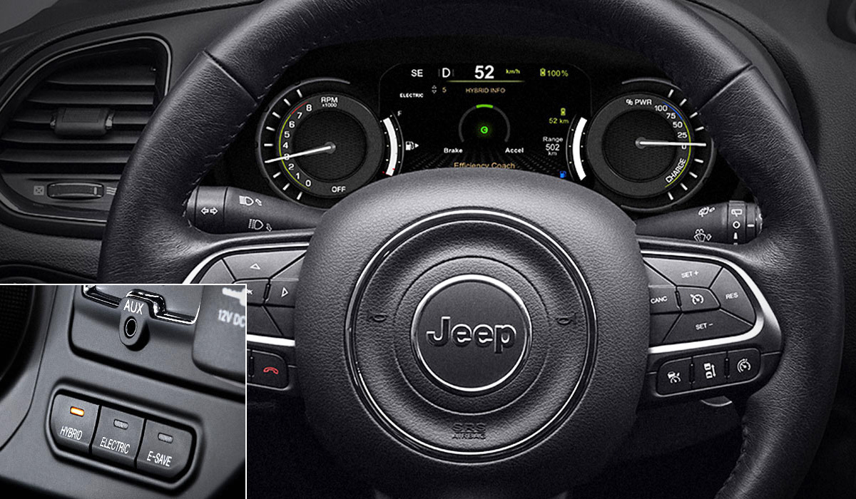 jeep renegade 4xe2 - Гибридные Jeep Renegade и Compass выходят на рынок