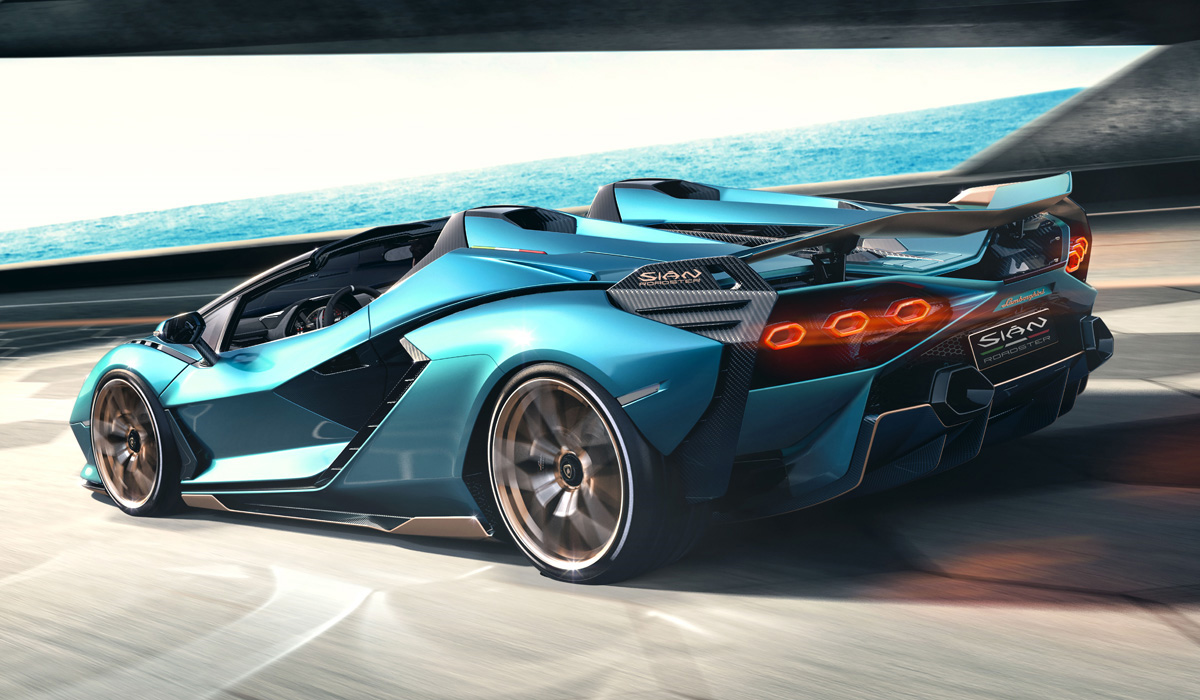 This was already the case with small-scale models Reventon, Veneno and Centenario: after the basic coupe, versions without a roof were released. Now the same fate has befallen the super car Lamborghini Sian