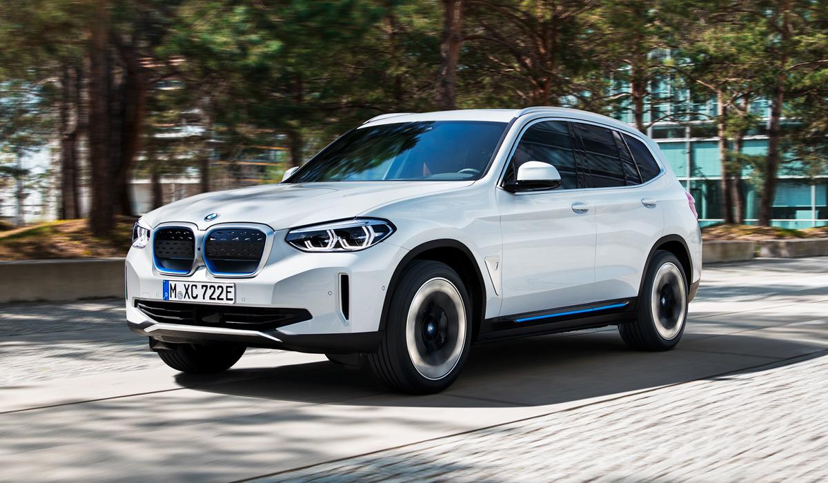 Представлен серийный электрический кроссовер BMW iX3