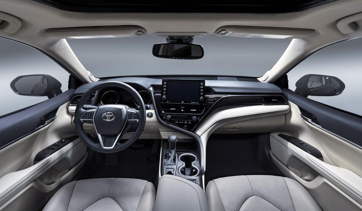 Обновленная Toyota Camry: пока только для Америки