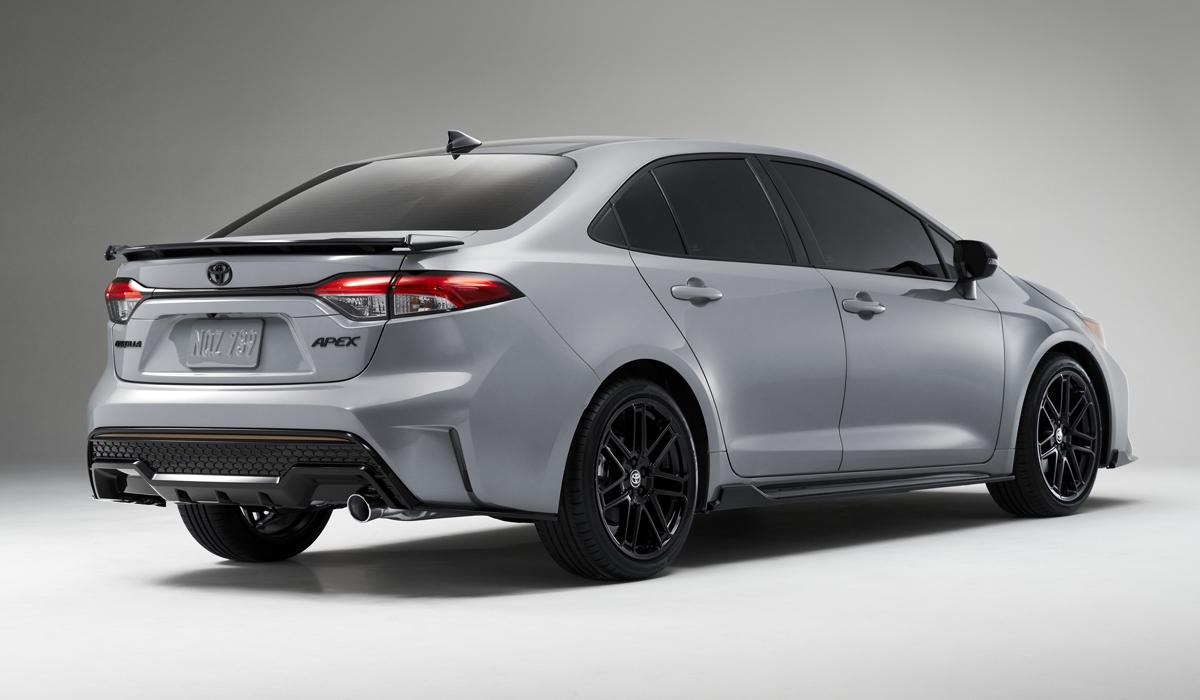 Представлена Toyota Corolla Apex Edition с боевым шасси
