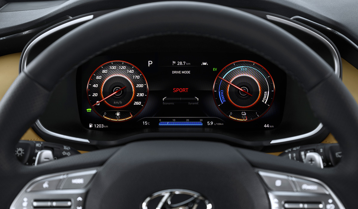 Обновленный кроссовер Hyundai Santa Fe тянется в «премиум»