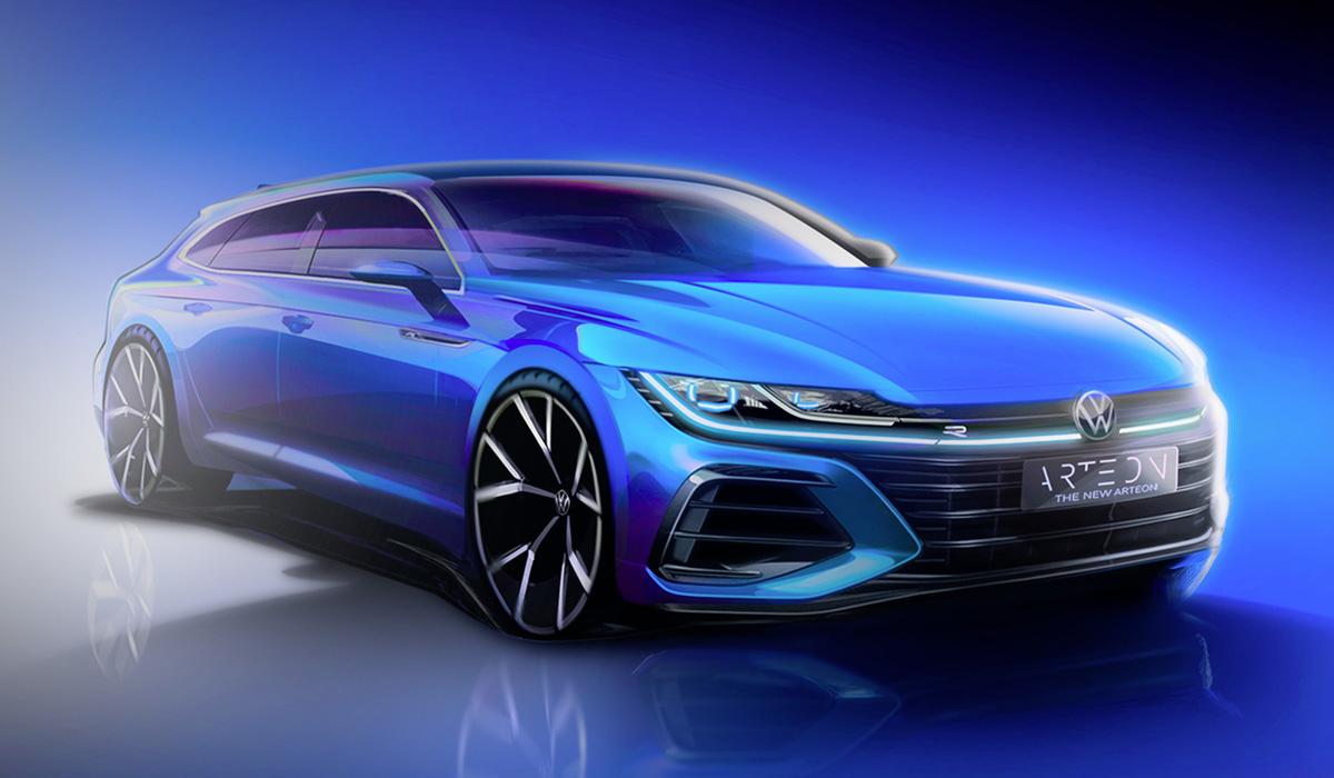 Обновленный Volkswagen Arteon покажут в конце июня