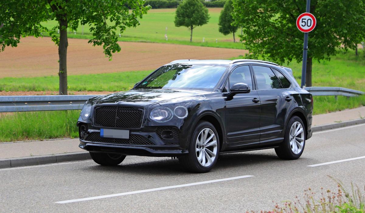 Bentley Bentayga crossover