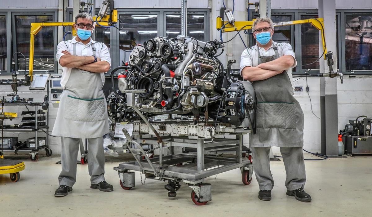 The latest V8 6A engine