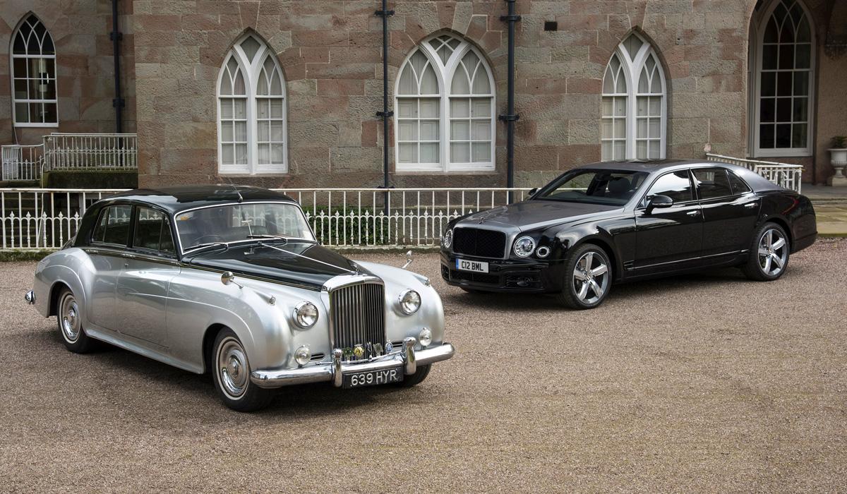 Bentley S2 and Bentley Mulsanne 6.75 Edition
