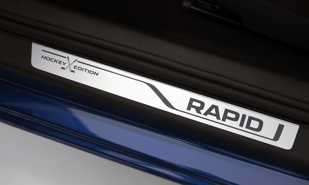 """Many Skoda models have long had an advantageous configuration of the Hockey Edition, and now the updated Rapid has also appeared. In fact, this is a fixed package of options for the"""" medium """""""