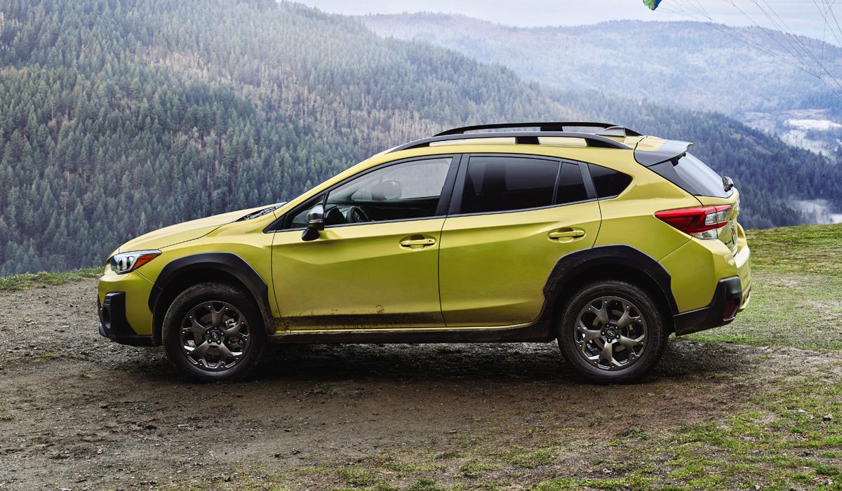 Обновленный Subaru Crosstrek, он же XV с мощным мотором