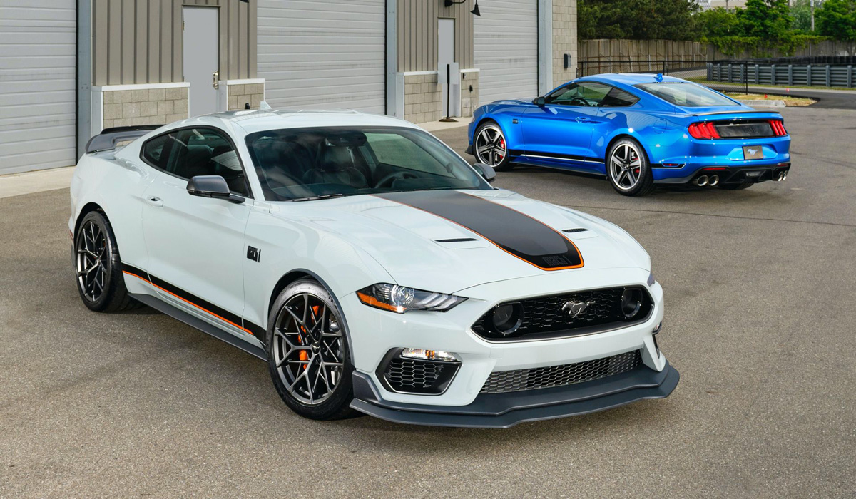 Unfortunately, Mach 1 returns as a limited special series. The company does not yet report a circulation, but Mach 1 will still appear outside of North America. Ford plans