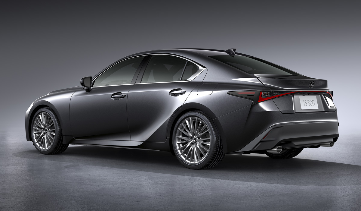 The debut of the fourth generation of the IS model also marked the premiere of the new corporate philosophy of Lexus Driving Signature