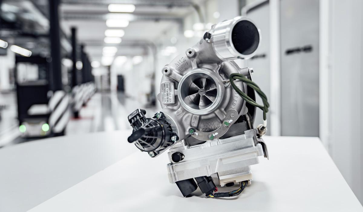 AMG переходит на электрический турбонаддув