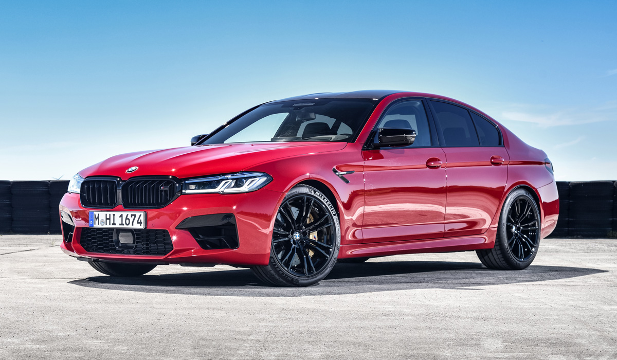 """Sales of updated """" EMOS """"will begin simultaneously with the civil"""" fives"""", that is, in July. Prices in Germany - from 121 thousand euros for the BMW"""