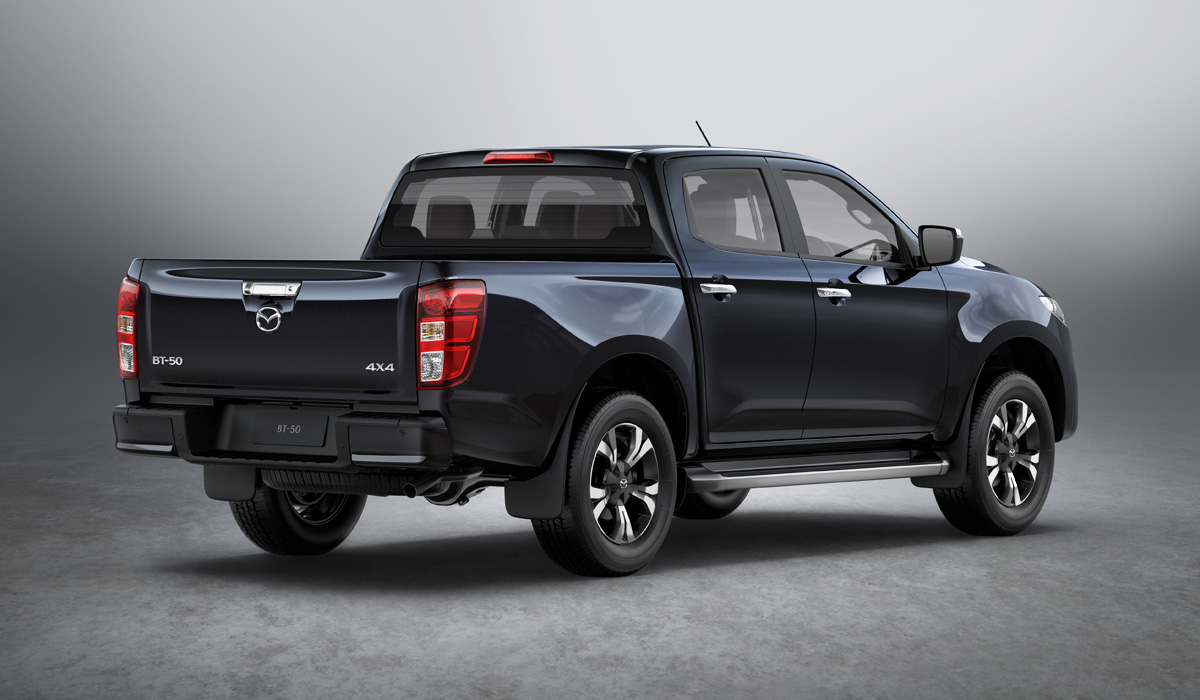 The new Mazda BT-50 pickup truck will be produced at the Isuzu plant in Thailand. The start of sales is scheduled for the second half of the year